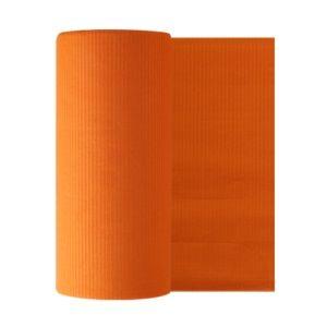 Бумажные фартуки в рулонах для пациентов 80 шт, оранжевые Euronda