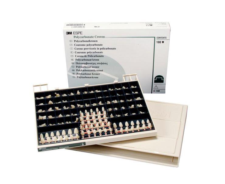 Коронки поликарбонатные 3М Polycarbonate Crowns C-180 7000030120