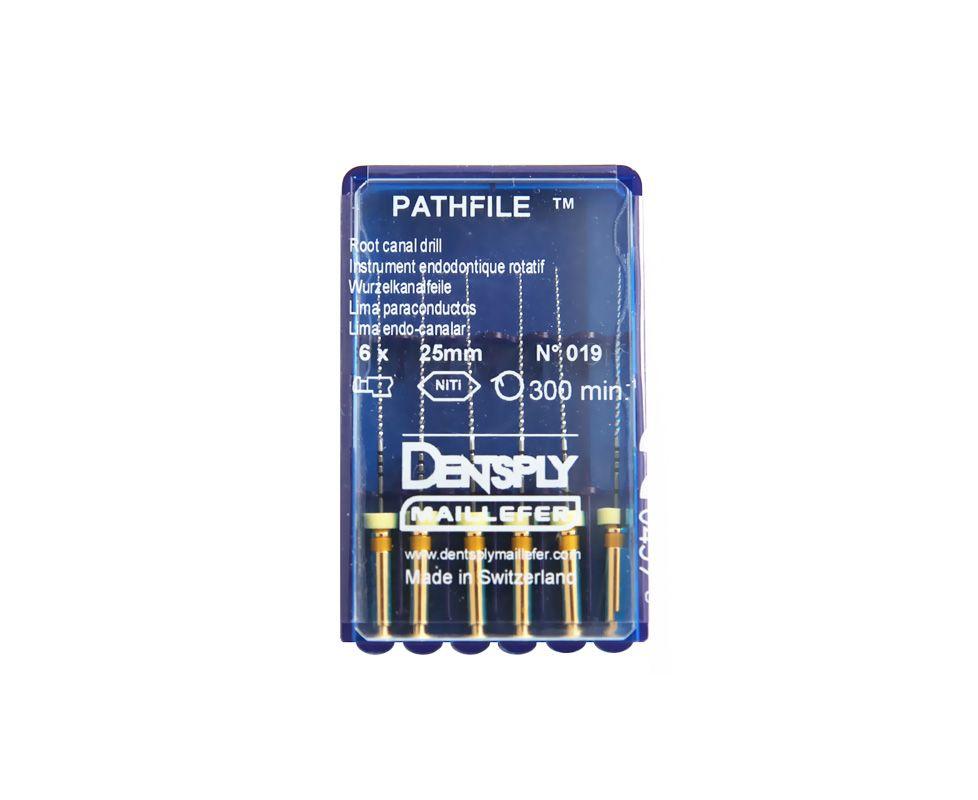 Инструмент машинный Maillefer PathFile набор 21мм 6 шт