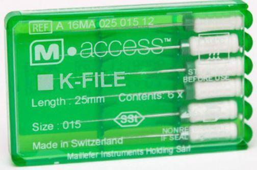 Инструмент ручной Maillefer K-File M-Access №20 21мм A12MA02102012