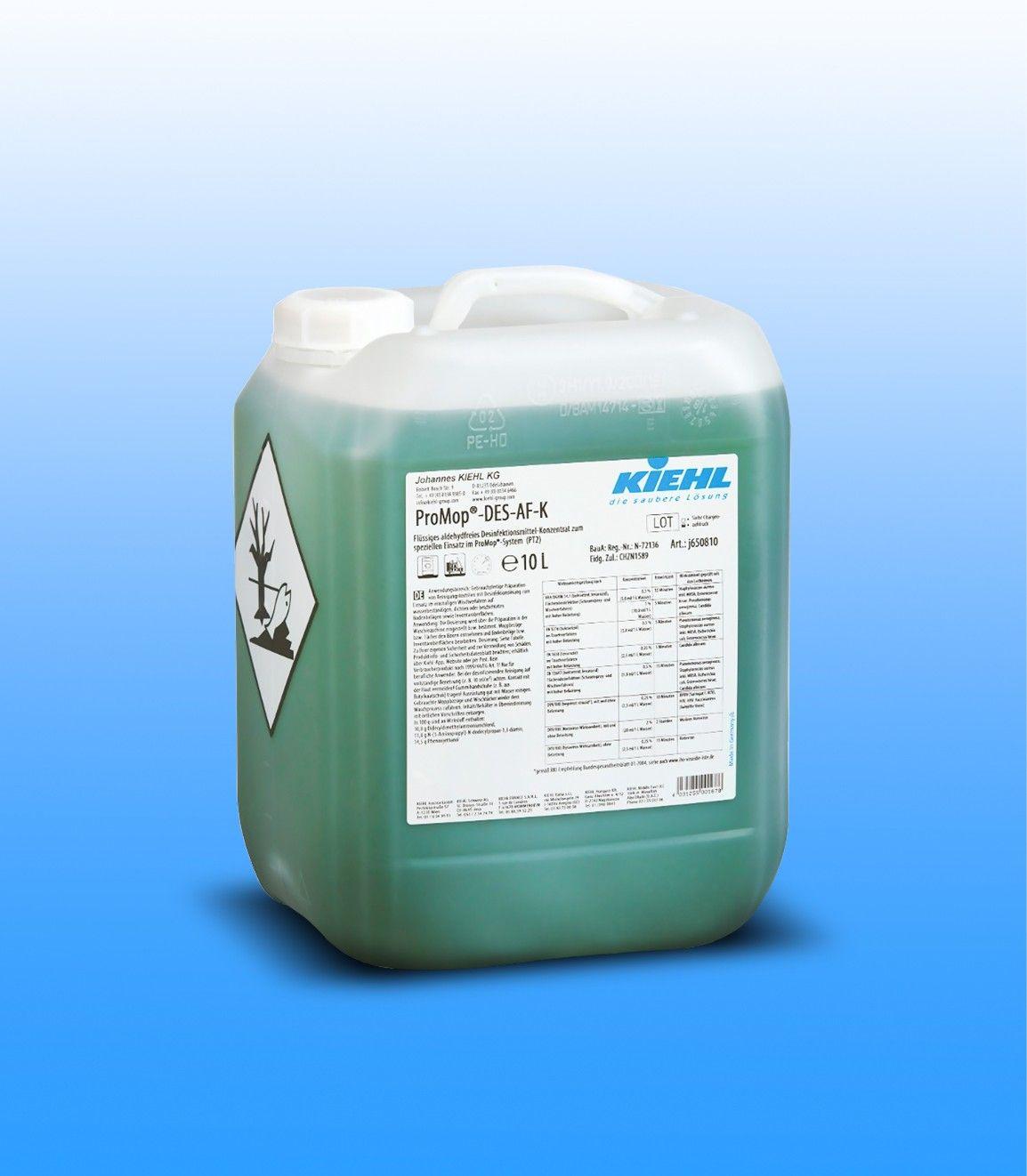 Дезинфицирующее средство 10 л, ProMop-DES-AF-K, Johannes Kiehl KG