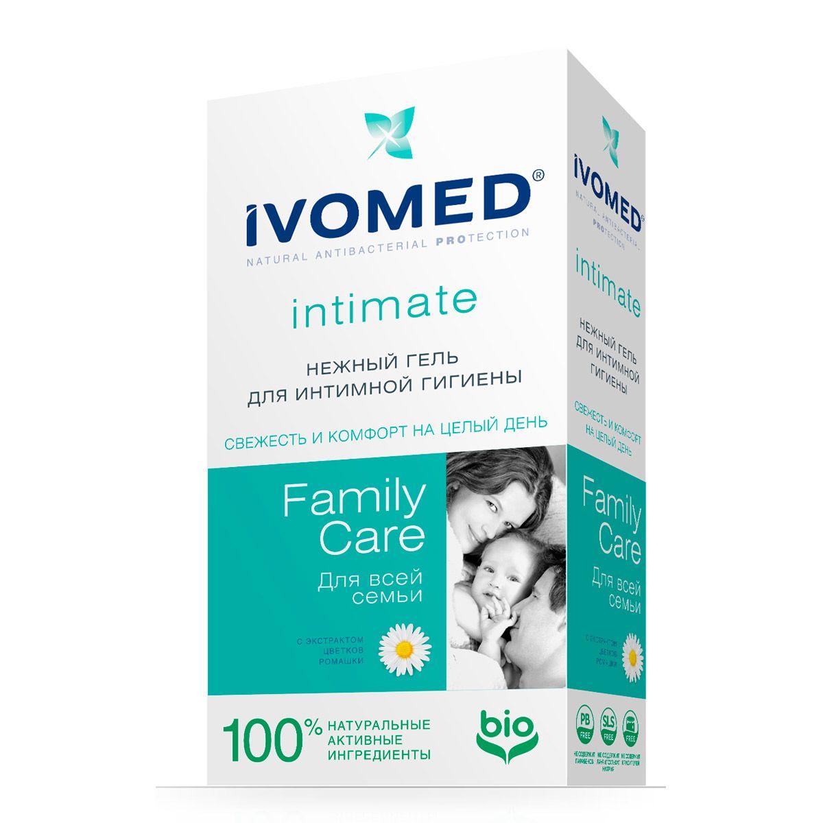 Гель для интимной гигиены Ivomed Family Care Ромашка 250мл РОКС