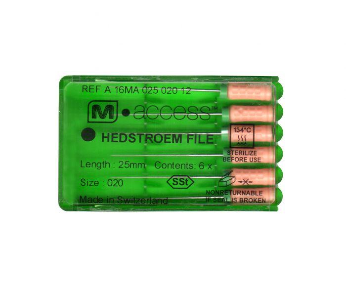 Инструмент ручной Maillefer Hedstroem M-Access №15-40 21мм A16MA02190012