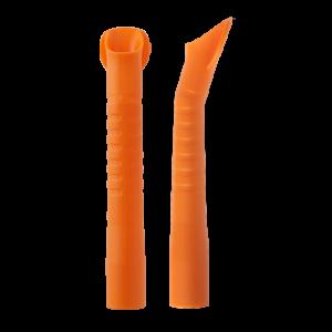 Наконечники/пылесосов (ЕМ19) автокл.,114 мм d=16мм оранжевые