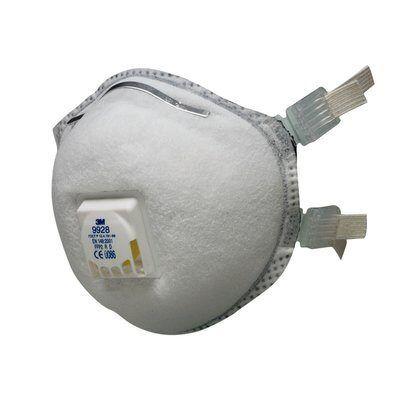 Защитная маска 3M 9928, класс защиты 2 FFP2 R D, 1 шт
