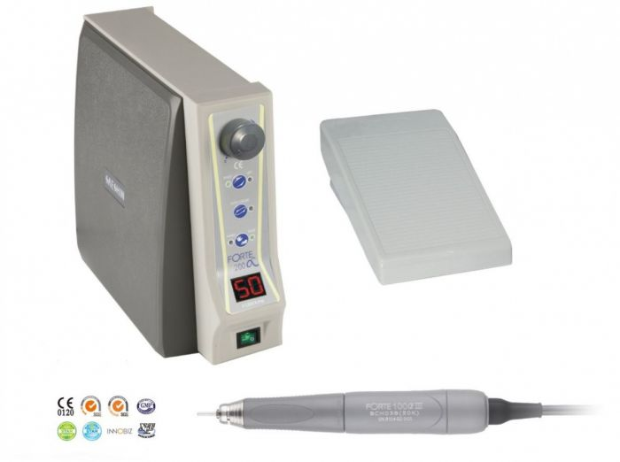 Микромотор зуботехнический Forte 200/F100 aIII, бесщеточный