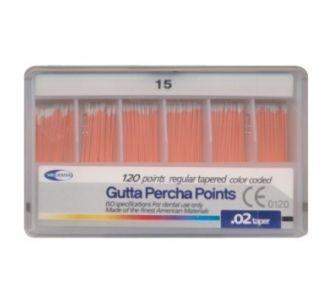 Гуттаперчевые штифты Meta Dental №15 (120шт)