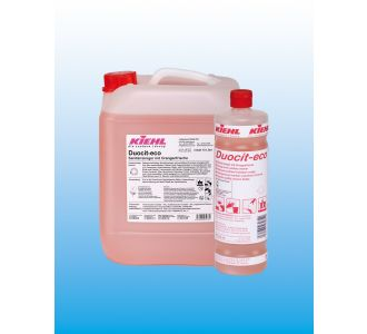 Средство для санитарных помещений, без цвета и запаха, флакон 1 л, Duocit-eco balance, Johannes Kiehl KG