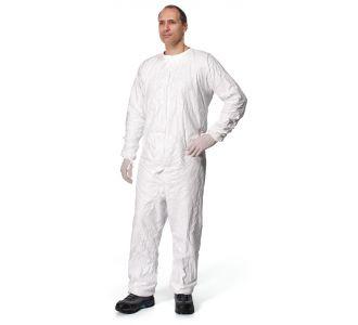 Комбинезон защитный без капюшона, стерильный, белый, шт, размер XL, TYVEK IsoClean