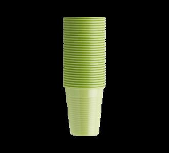 Стаканы пластиковые лайм, 100 шт EURONDA