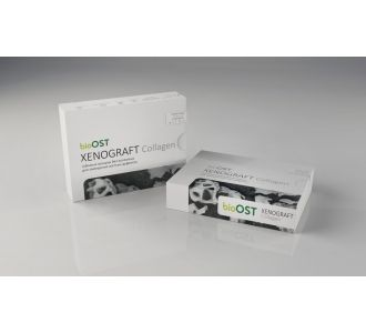 Гранулы bioOST XENOGRAFT Collagen с коллагеном 0.25 - 1.0мм, XCol-1-1