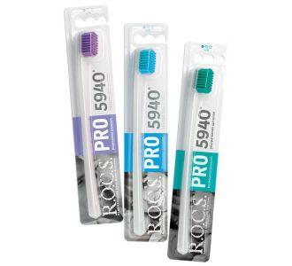 Зубная щётка ROCS PRO мягкая