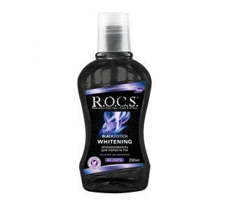 Ополаскиватель ROCS Black Edition отбеливающий 250мл