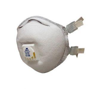 Защитная маска 3M 9925 класс защиты 2 FFP2, 10 шт./уп.